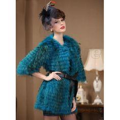 2013 Latest Style Raccoon Dog Fur Coat for Women, High-Grade Fur Waistcoat with Elegance, Medium and Long Length for Choice