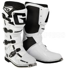d8b87fcaa7b73 Gaerne SG12 Boots - White Motocross, Motorbikes, Respect, Gears, Gear Train,