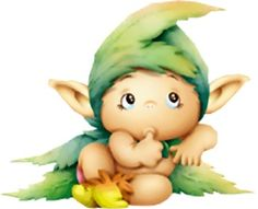 Risultati immagini per lutin rigolo Cute Kids, Cute Babies, Cute Fantasy Creatures, Hobgoblin, Belly Painting, Baby Fairy, Cute Clipart, Fairy Art, Animated Gif