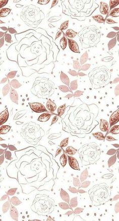 New Wallpaper Iphone Glitter Flowers Ideas Gold Wallpaper Background, Rose Gold Wallpaper, New Wallpaper Iphone, Trendy Wallpaper, Flower Wallpaper, Cute Wallpapers, Floral Wallpapers, Desktop Wallpapers, Pattern Wallpaper Iphone