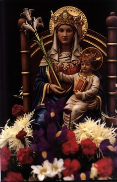 wonderful novena for Mothers; Lady of Walsingham pray for us.  Feast day September 24.