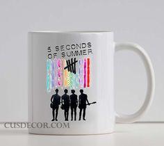 Buy 5 Second Of Summer Color cute Ceramic mugs