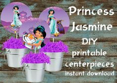 Instant Digital Download: 1 JPG, 1 PDF included  This listing is for a NON EDITABLE instant download of 1 PDF and 1 JPG printable files (8.5x11 inches page/300dpi high resolution) with 3 Princess Jasmine favor tags (4.5 inches each). Just print the format that works best for you.  NO printed materials will be mailed to you.  ♦♦ HOW IT WORKS♦♦  After purchasing a digital file, and once you payment is confirmed, you will receive an email notification from Etsy with your download links…