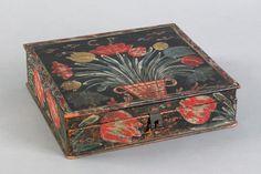 Berks County, Pennsylvania trinket box, ca. 1800