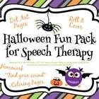 This 22 page download includes a variety of fun activities to use in your therapy room during the month of October!  You will receive 9 dot art pag...