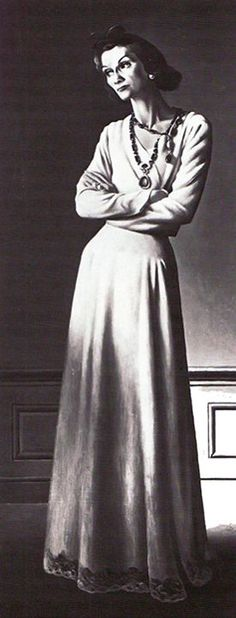 'Gabrielle Coco Chanel' - 1942 - by A. M. Cassandre - @~ Mlle