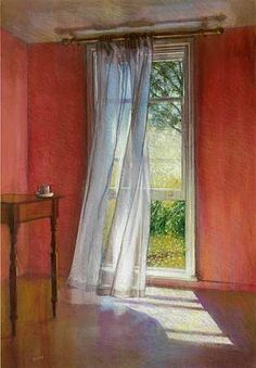 ◇ Artful Interiors ◇ paintings of beautiful rooms - Brian Dunlop Zimzum III 2006