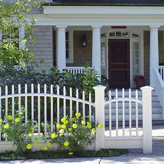 Fences Wood Traditional On Pinterest Picket Fences