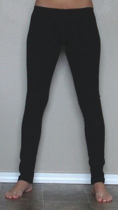 DIY Leggings   Tasha Delrae. Make a rainbow of colors with this detailed tutorial. Easy..well if you sew.