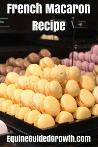 Reformed MD, assisted by six super-smart Horses, hosts Personal Empowerment Workshops in the south of France French Macarons Recipe, Macaron Recipe, How To Make Macarons, Making Macarons, My Favorite Food, Favorite Recipes, Tasty, Yummy Food, Doughnut