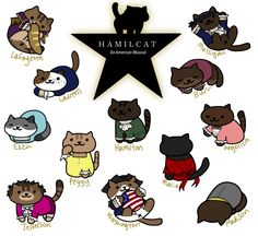 More like an Hamilcat an America Mewsical! Honestly, wasted pun.