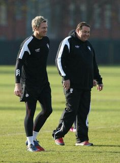 Jean de Villiers and Steve Hansen Steve Hansen, All Blacks Rugby, Just A Game, Coaches, Lifestyle, Trainers