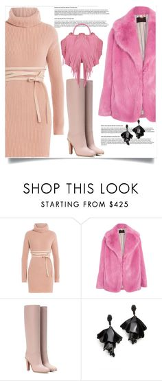 """""""Lovely !!"""" by dumspirospero-l ❤ liked on Polyvore featuring Valentino, J.Crew, Oscar de la Renta and The Volon"""