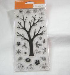 Fiskars Clear Stamps Build-A-Tree by mimmiescraftcloset on Etsy
