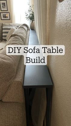 Diy Sofa Table, Diy Furniture Table, Diy Furniture Plans Wood Projects, Diy House Projects, Furniture Storage, Couch Furniture, Diy Bedroom Projects, Diy House Ideas, Diy Furniture Making