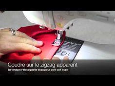 Techniques de couture Jalie - Comment coudre des élastiques