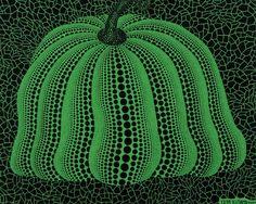 Yayoi Kusama    Pumpkin (Green)