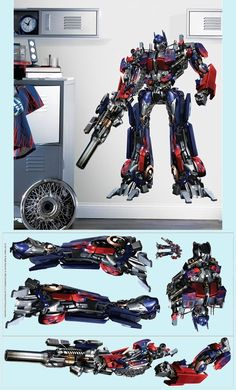 Transformers the Movie Giant Wall Mural