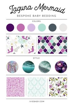 HOW TO ORDER // Choose an item + a fabric design from the drop down menus. Add to cart. For multiple items, repeat from the beginning. SPECIFICATIONS // Changing Pad Cover: length 31 – width – height – in Cotton or Minky Crib Sheet: 28 x up to 8 . Mermaid Bedding, Mermaid Nursery, Baby Mermaid, Luxury Duvet Covers, Luxury Bedding, Modern Bedding, Nursing Pillow Cover, Winter Typ, Web Design
