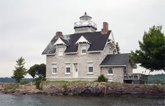 Sisters Island Lighthouse, New York | St. Lawrence Seaway