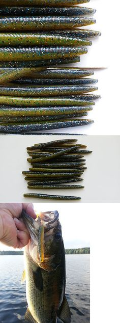 soft plastics 31691: 50ct bulk assortment premium 5 senko style, Soft Baits