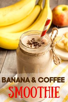 What a great breakfast for all the coffee lovers out there! A smooth and creamy beverage that's not only refreshingly good, but also packed with weight loss, antioxidants, and anti-inflammatory properties to get you going through the rest of the day! #weightloss #diet. #bananarecipe #smoothies #smoothierecipe #fruit #coffeesmoothie #fresh #breakfastecipes #recipes #breakfastsmoothie #dietdrink #proteinshake Coffee Protein Smoothie, Coffee Smoothie Recipes, Allergy Free Recipes, Paleo Recipes, Food Meaning, Dairy Free Snacks, Veggie Smoothies, Banana Coffee, Shake Diet