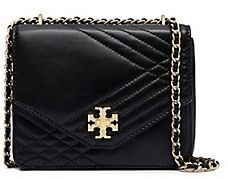 1999d87b63 Tory Burch Kira Quilted Mini Cross-Body Leather Clutch, Gold Leather,  Smooth Leather