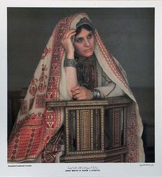 Jordan and Palestine Traditional Costume - 3 | The Palestine Poster Project Archives
