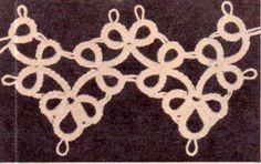 Genuine Vintage Gorgeous Ultra-Lacy 'Shamrock' Edging Tatting Pattern PDF Crochet Motif, Knit Crochet, Crochet Patterns, Tatting Patterns, Retro Home Decor, Vintage Knitting, Doilies, 1940s, Macrame