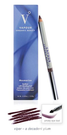 Vapour Organic Beauty Mesmerize Eyeliner in Viper.  Finally, a plum eyeliner from my favorite makeup line!