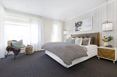 New Living Room Carpet Dark Ideas Coastal Bedrooms, Coastal Living Rooms, Trendy Bedroom, Modern Bedroom, Cottage Living, Cozy Cottage, Coastal Cottage, Dark Living Rooms, New Living Room