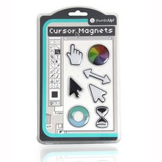 Cursor Icon Magnets, $18, now featured on Fab.