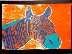 Thomas Elementary Art: Grade Animal Printmaking (The best printmaking project I have ever done!) good three color printing project with styrofoam. Art Lessons For Kids, Art Lessons Elementary, Arte Elemental, Art Doodle, Animal Art Projects, 6th Grade Art, School Art Projects, Art School, Art Lesson Plans
