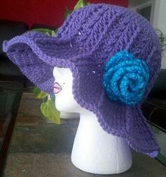 Made this hat for a dear friend