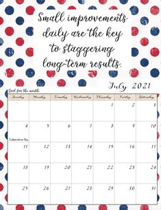 FREE Printable 2021 Monthly Motivational Calendars. Space for setting goals, different motivational quote each month, holidays marked. Get motivated and organized with this free printable calendar. Printable Calendar Template, Templates Printable Free, Printable Planner, Free Printables, Monthly Planner, Kids Calendar, Calendar Pages, 2021 Calendar, Calendar Quotes