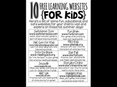 10 Fun Learning Websites For Kids