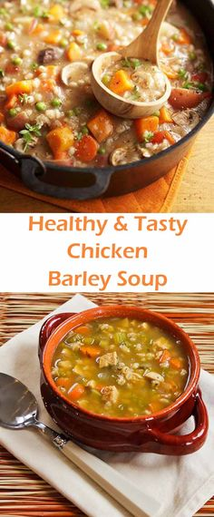 I like to use chicken with the bone in this soup because it adds more flavor, if you want you can use boneless chicken. Enjoy and stay warm.