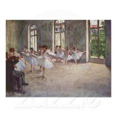 Degas ballet paintings for shelving
