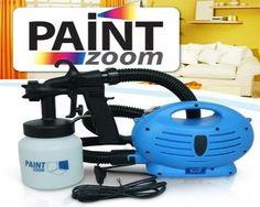 WiseBuy.ro - Pompa de vopsit Paint Zoom! Aparat pentru zugravit si vopsit fara efort la doar 99 lei! | Reduceri online