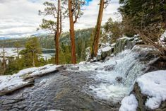 Lower Eagle Falls, South Lake Tahoe