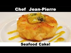 UNBEATABLE Seafood Cake! Chef Jean-Pierre - YouTube Best Seafood Recipes, Shrimp Recipes, Fish Recipes, Meat Recipes, Food Processor Recipes, Dinner Recipes, Fish Dishes, Seafood Dishes, Seafood