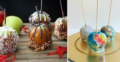 Die schönsten kandierten Äpfel für Halloween! #News #Genuss