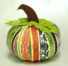 How to Make 3-D Pumpkins Using Card Stock and the Cricut