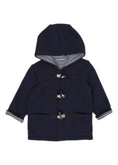 Teeny tiny duffle coat!