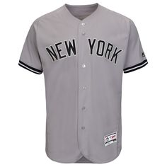 New York Yankees 2016 Authentic On-Field Flexbase™ Road Jersey by Majestic   NewYorkYankees bd0040049