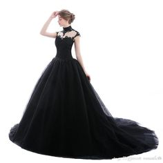 Victorian Ball Gowns, Gothic Gowns, Gothic Victorian Dresses, Victorian Castle, Black Wedding Dresses, Bridal Wedding Dresses, Fairytale Gown, Dark Fairytale, Funeral Dress