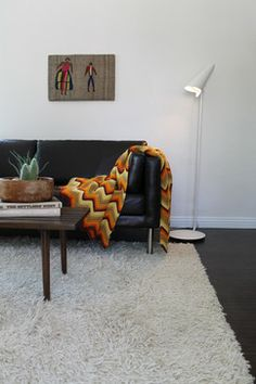Mid Century Modern Hipster - eclectic - living room - los angeles - Madison Modern Home