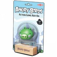 Angry Birds Tekli Figür Hain Domuzcuk & Ahşap
