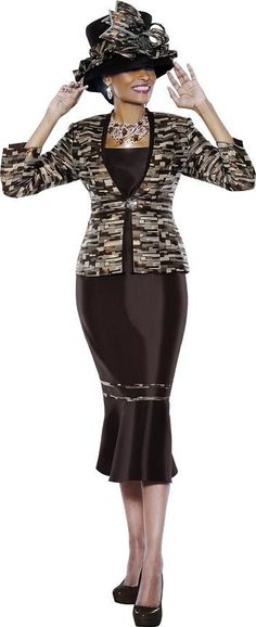 Terramina 7370 Womens Church Suit