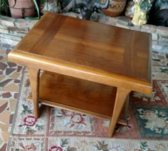 "Small 30"" Coffee or End Table by Lane Furniture, Mid Century Modern #LaneFurniture"